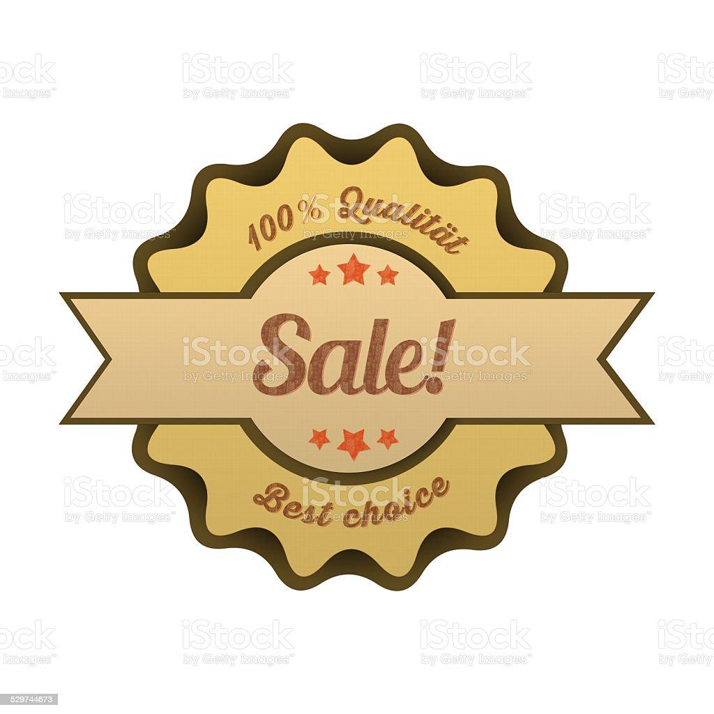 Vintage Button / Sale! stock photo