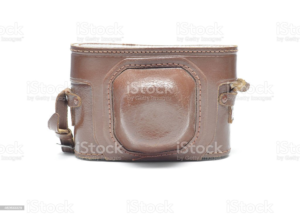 Vintage Camera Case stock photo