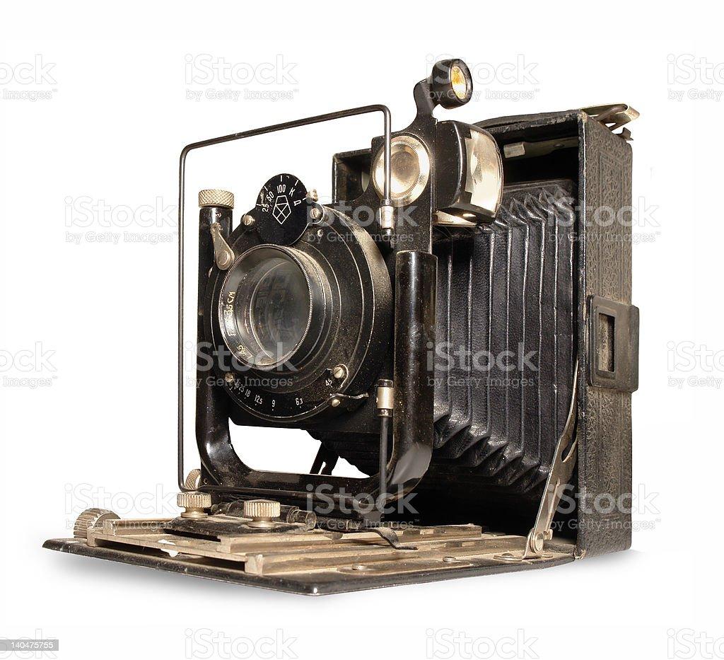 Vintage camera Fotokor royalty-free stock photo