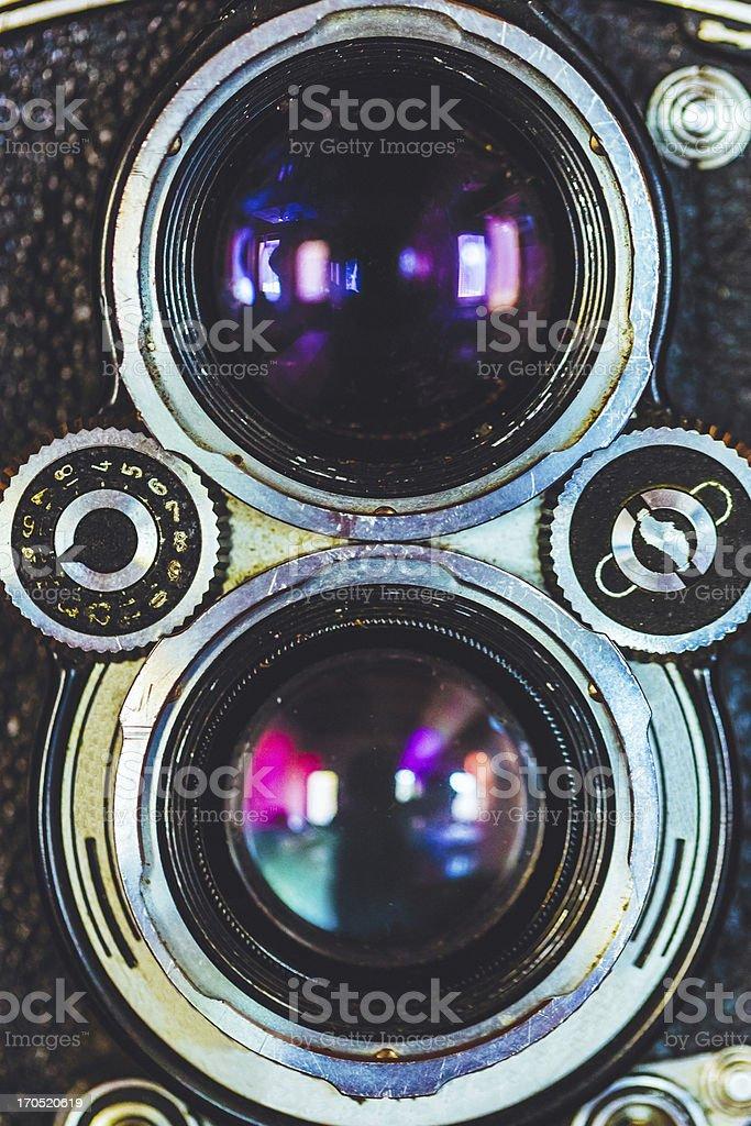 Vintage Camera Macro stock photo
