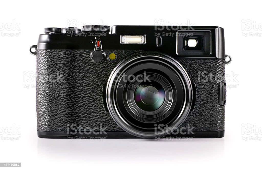 Vintage Camera (Clipping path) stock photo