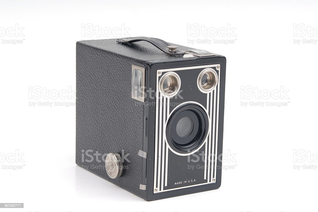 Vintage Camera royalty-free stock photo