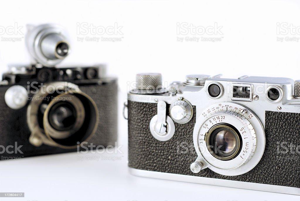 vintage cameras royalty-free stock photo