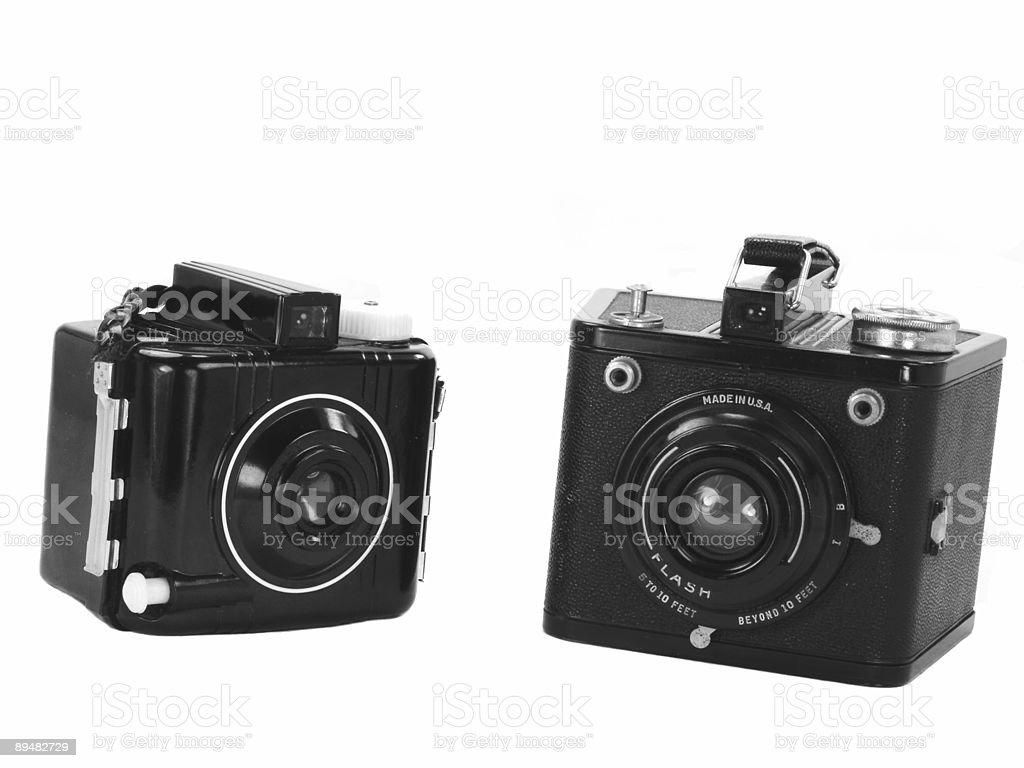 Câmeras Vintage foto royalty-free