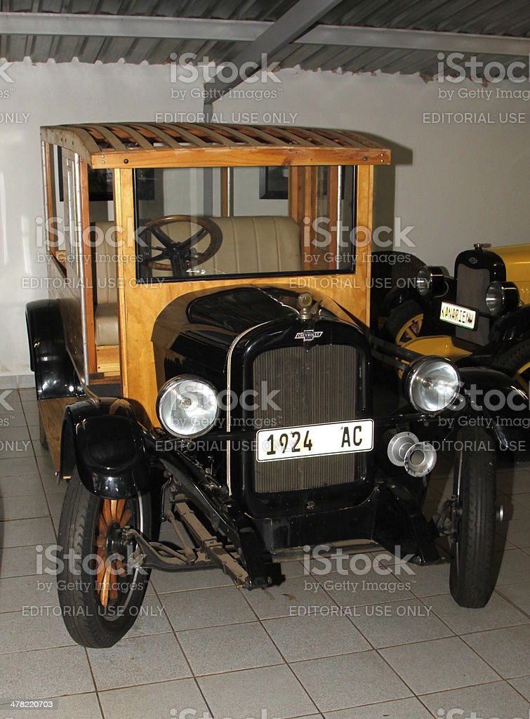 Vintage Car 1927 Chevrolet Woodie Truck stock photo