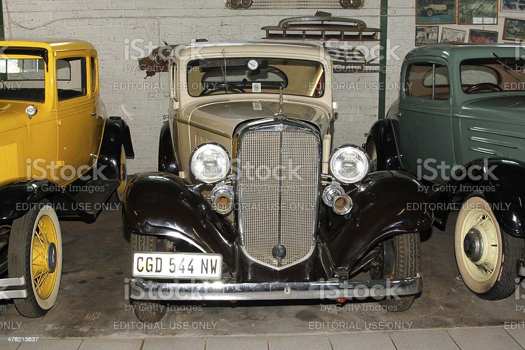 Vintage Car 1933 Chevrolet Coupe stock photo