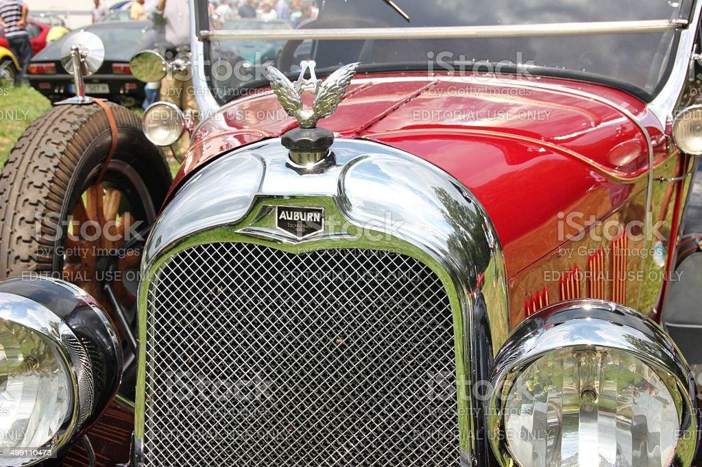 Vintage car Auburn royalty-free stock photo