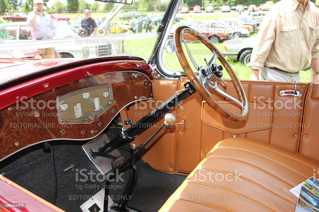 Vintage car Auburn royalty-free stock photo