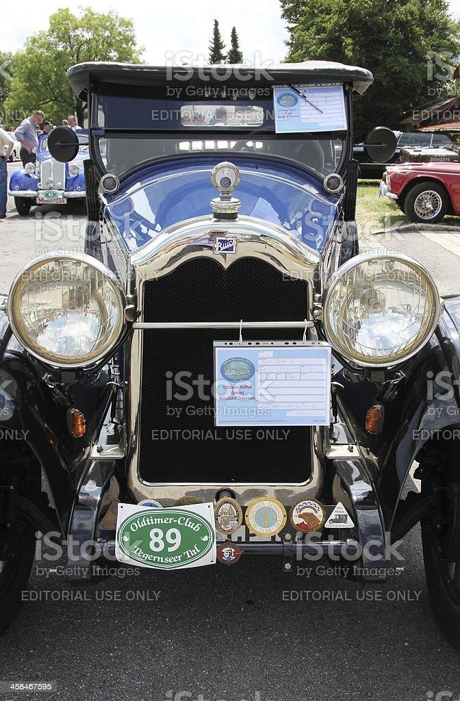 Vintage car Buick royalty-free stock photo