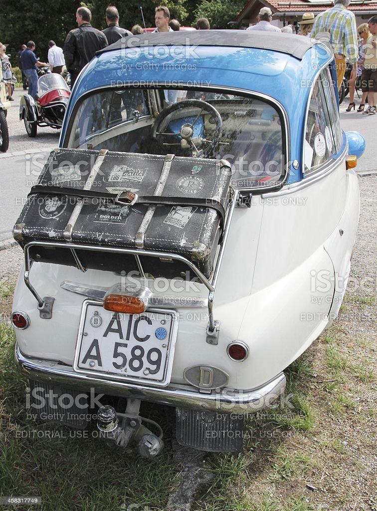 Vintage car BWM Isetta royalty-free stock photo