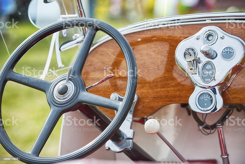 Vintage Car Detail royalty-free stock photo