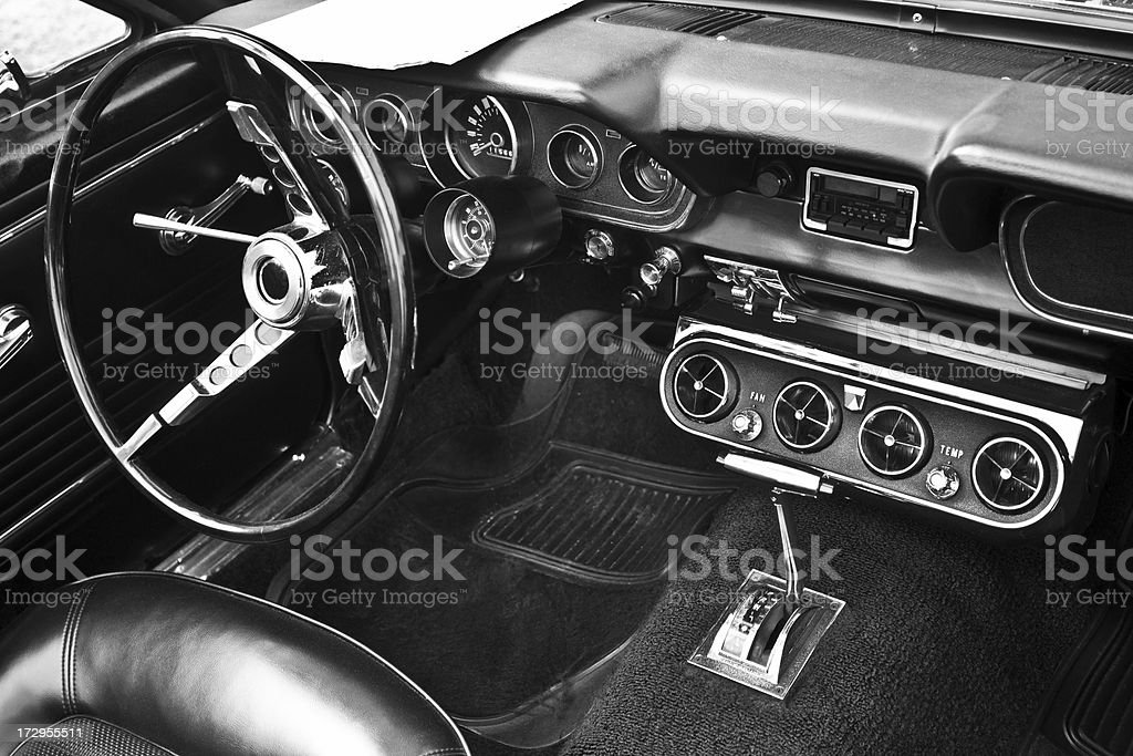 Vintage Car For Sale stock photo