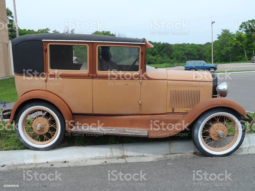 Vintage Car From 1928 stock photo