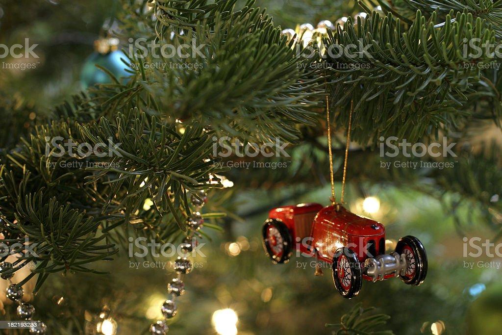 Vintage Car Ornament royalty-free stock photo