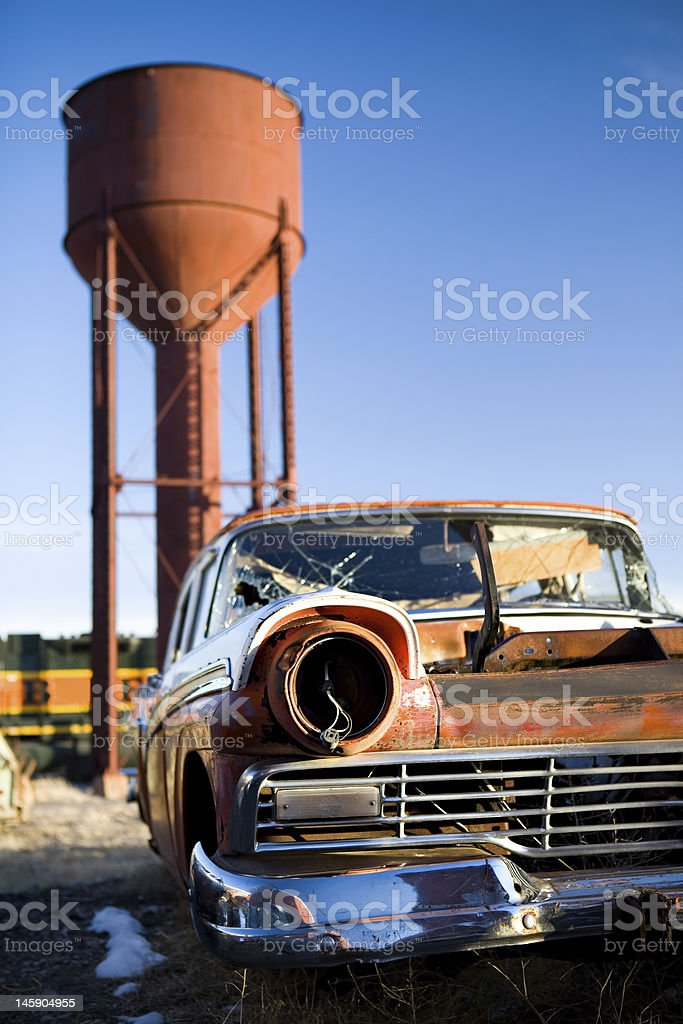 vintage car royalty-free stock photo