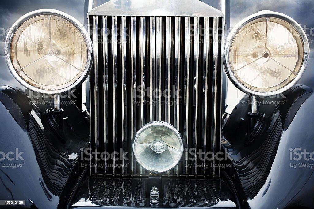 Vintage car royalty-free stock photo