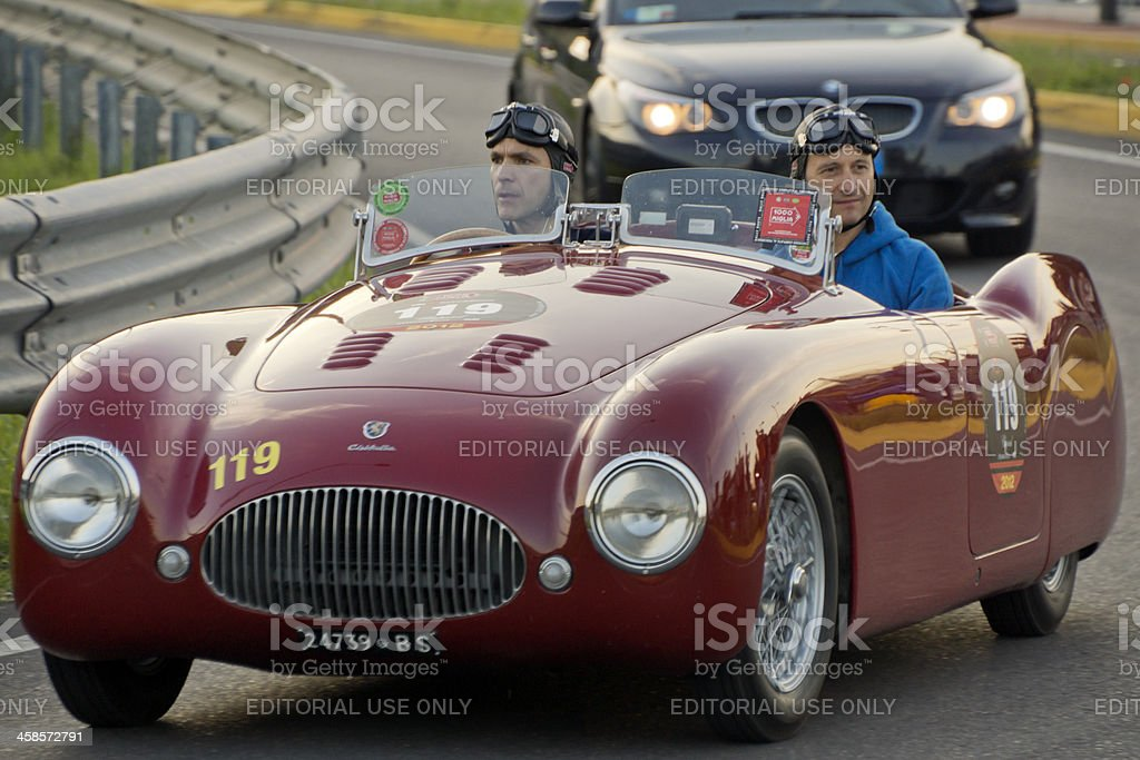 CISITALIA 202 SMM vintage car (year 1947) stock photo