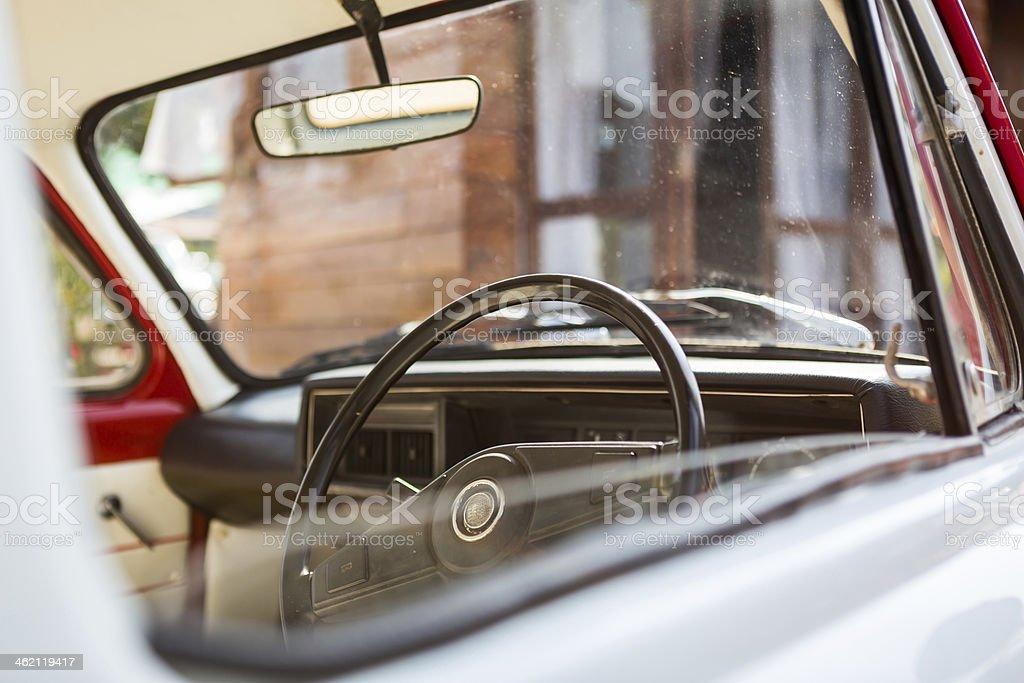 vintage car stock photo