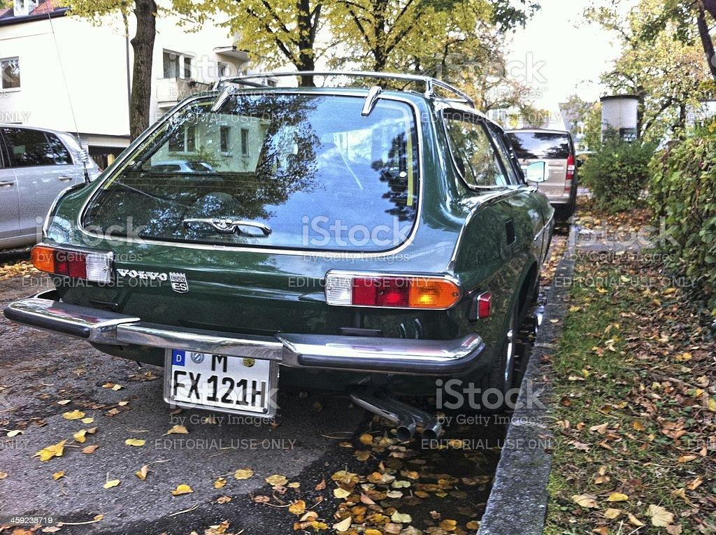 Vintage car Volvo royalty-free stock photo