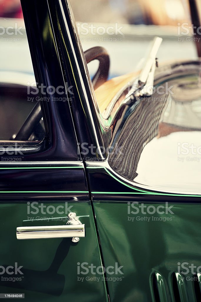 Vintage Car,20th Century. royalty-free stock photo