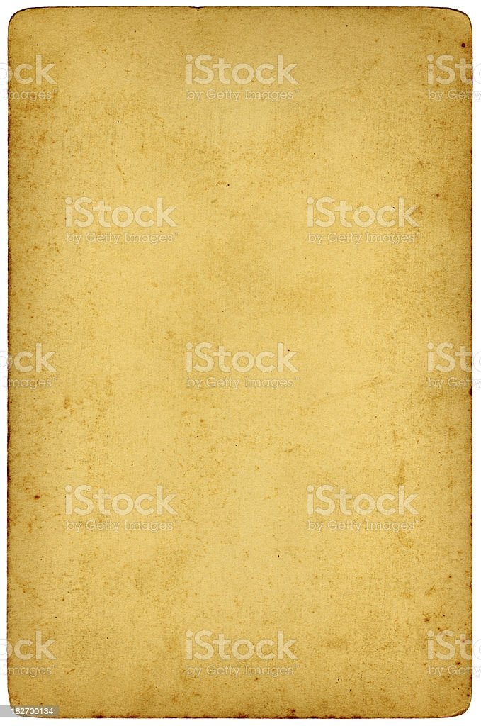 vintage card royalty-free stock photo