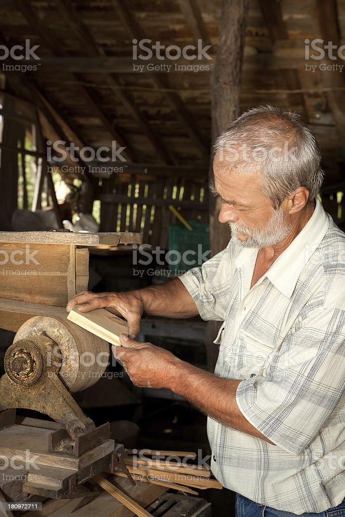 Vintage carpentry royalty-free stock photo