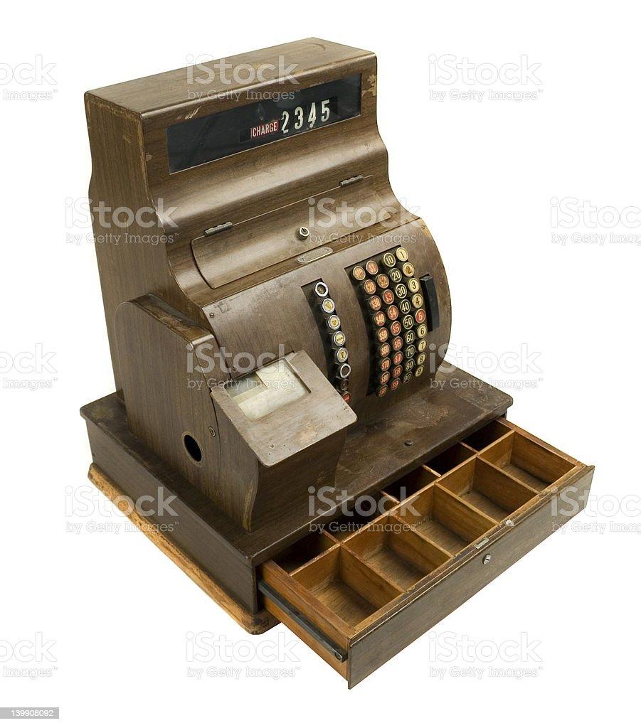 Vintage Cash Register royalty-free stock photo