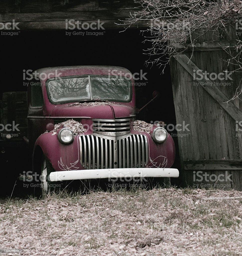 Vintage chevy stock photo