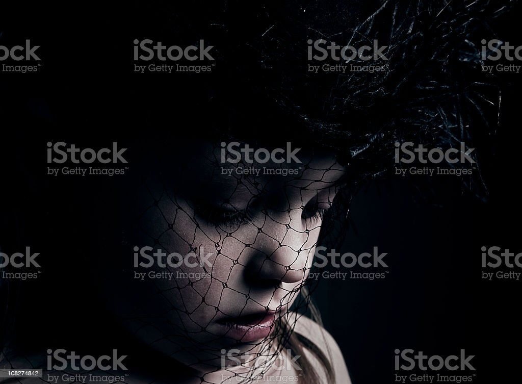 Vintage Child stock photo