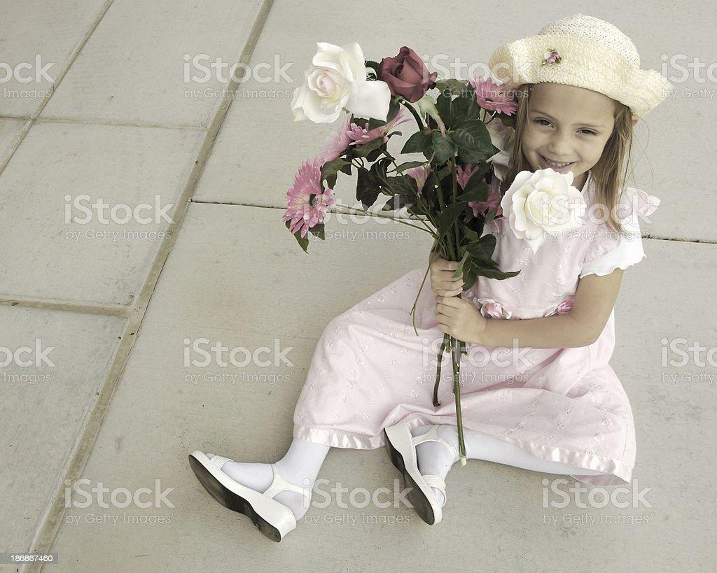 Vintage Children series royalty-free stock photo