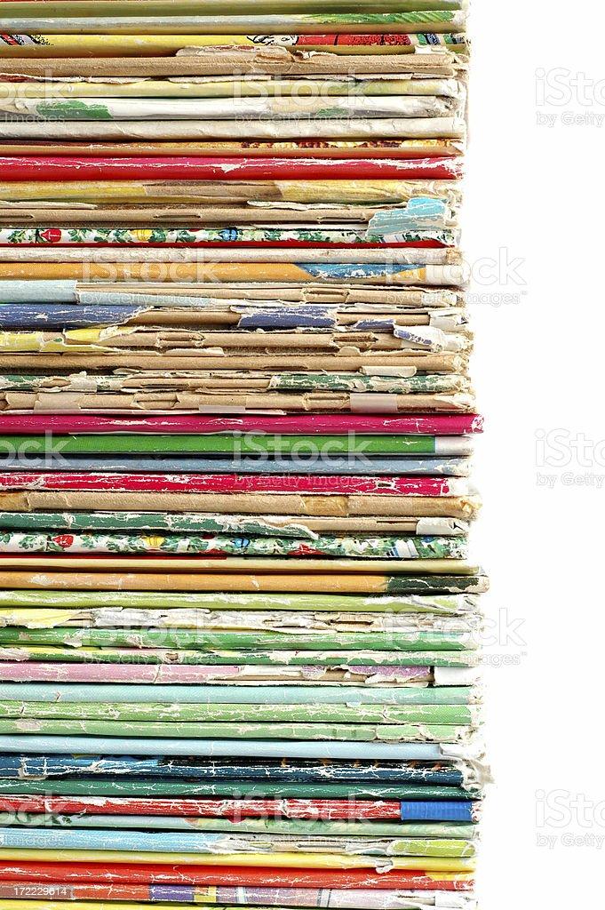 Vintage Children's Books royalty-free stock photo