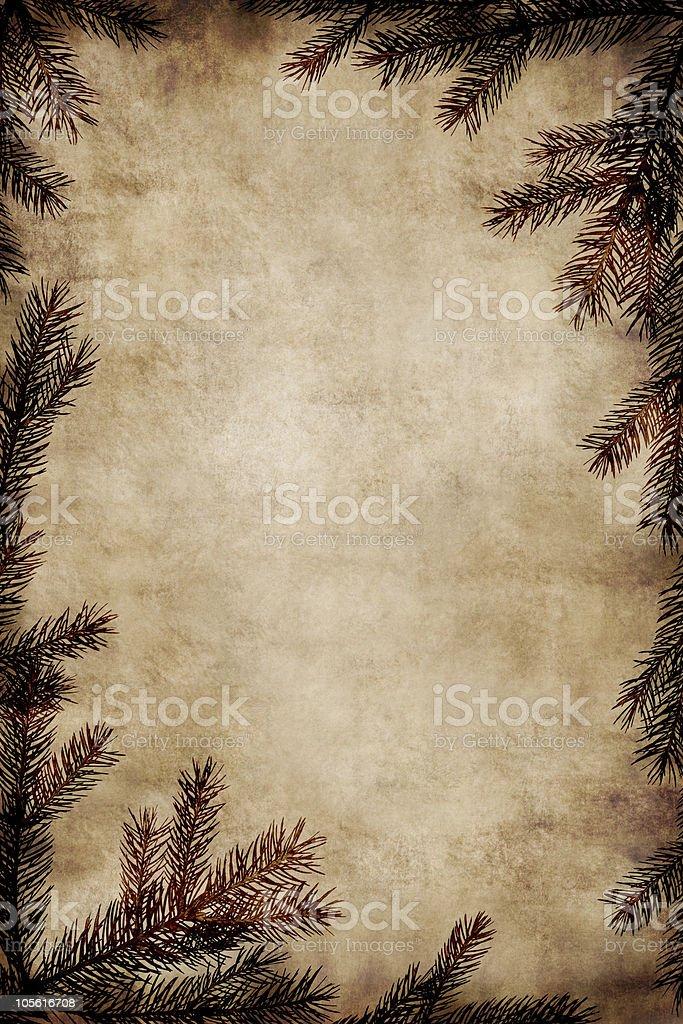 Vintage Christmas Frame royalty-free stock photo