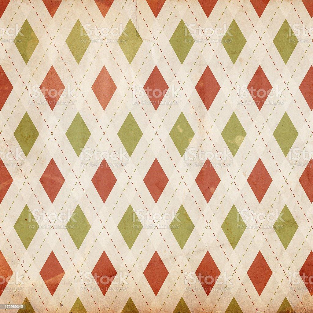 Vintage Christmas Pattern XXXL stock photo