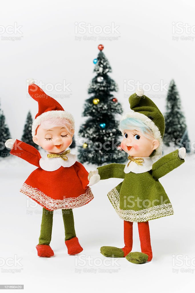 Vintage Christmas royalty-free stock photo