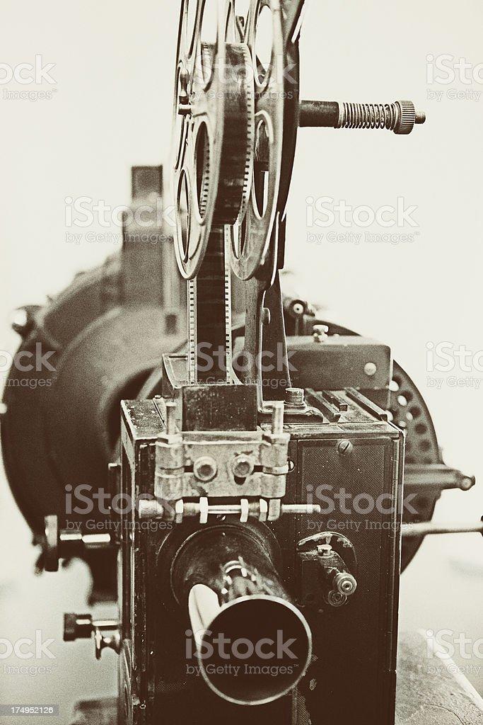 Vintage Cinema Projector royalty-free stock photo