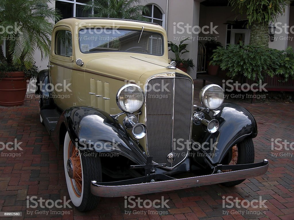 Vintage Classic Car royalty-free stock photo