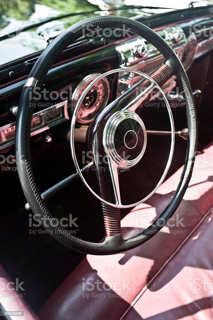 Vintage Cockpit III royalty-free stock photo