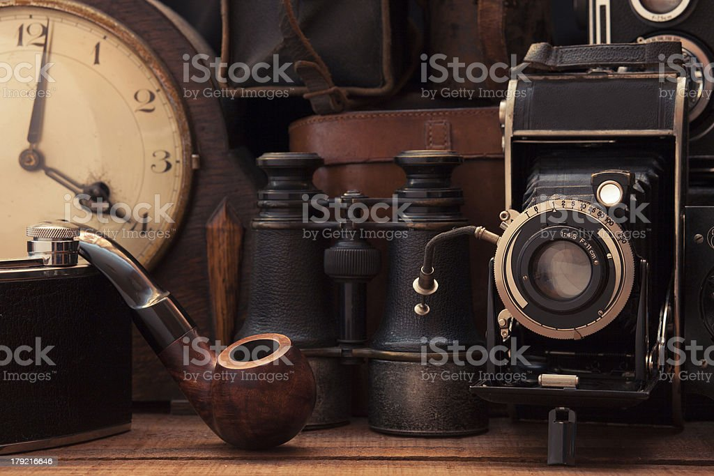Vintage Collection royalty-free stock photo