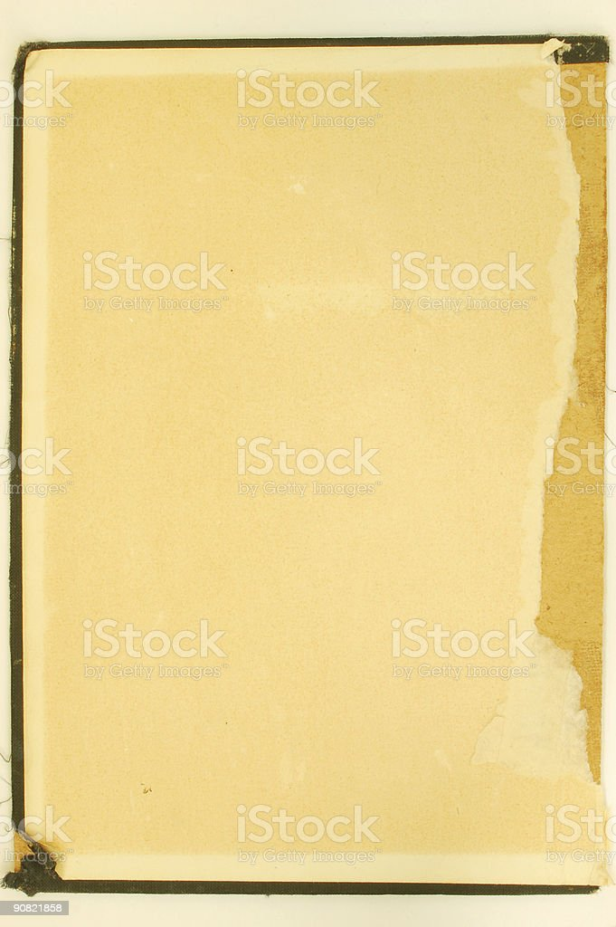 vintage cover #4 stock photo
