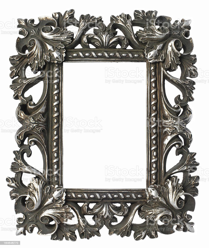 Vintage decorated frame XXL royalty-free stock photo