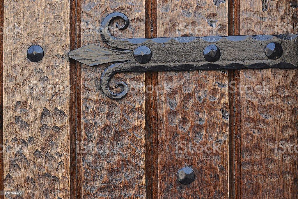Vintage door royalty-free stock photo