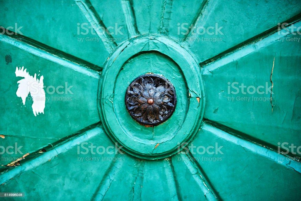 vintage door sight stock photo