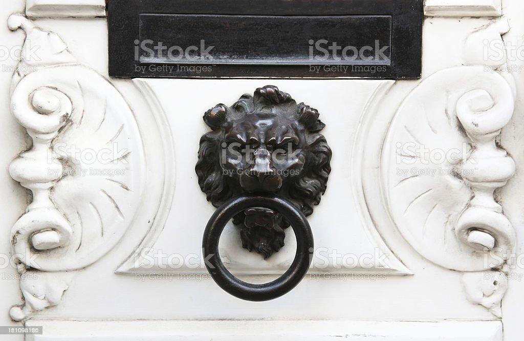 Vintage Doorknob royalty-free stock photo