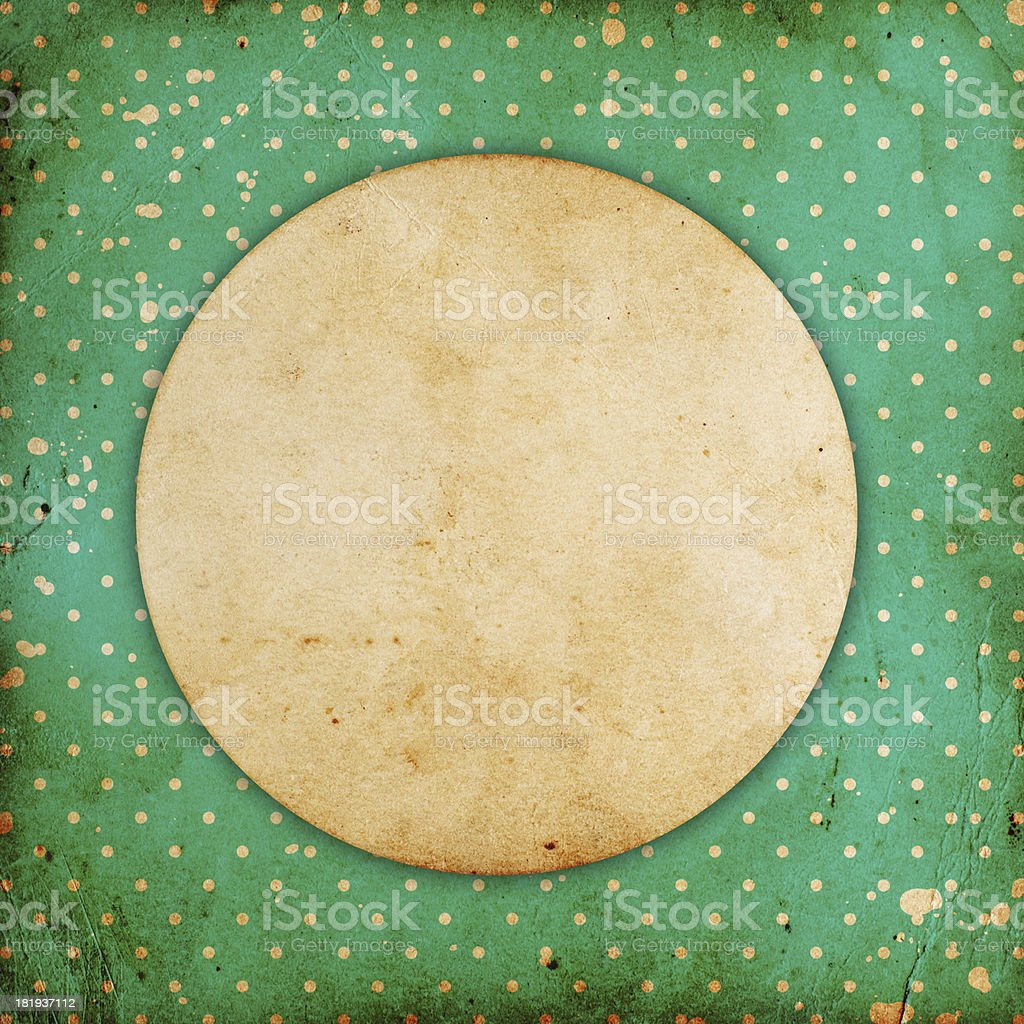 vintage dotted background royalty-free stock photo
