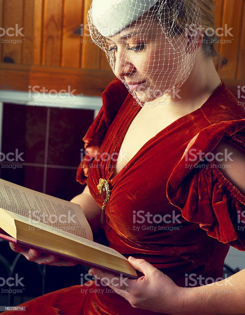 Vintage Early Twentieth Century Fashion royalty-free stock photo