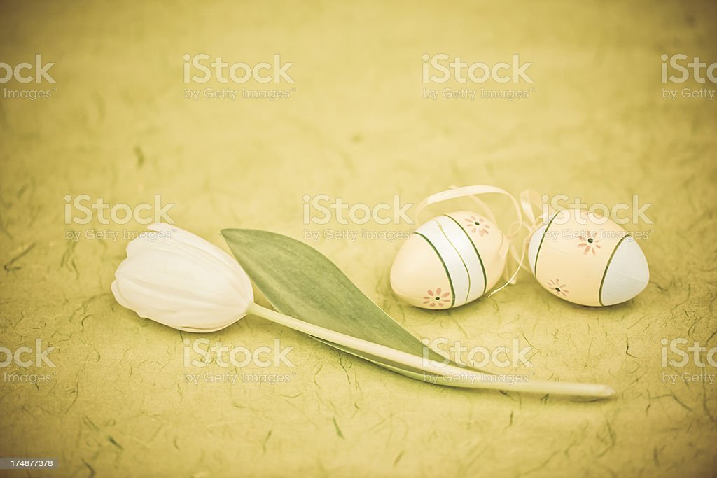 Vintage Easter Decoration royalty-free stock photo