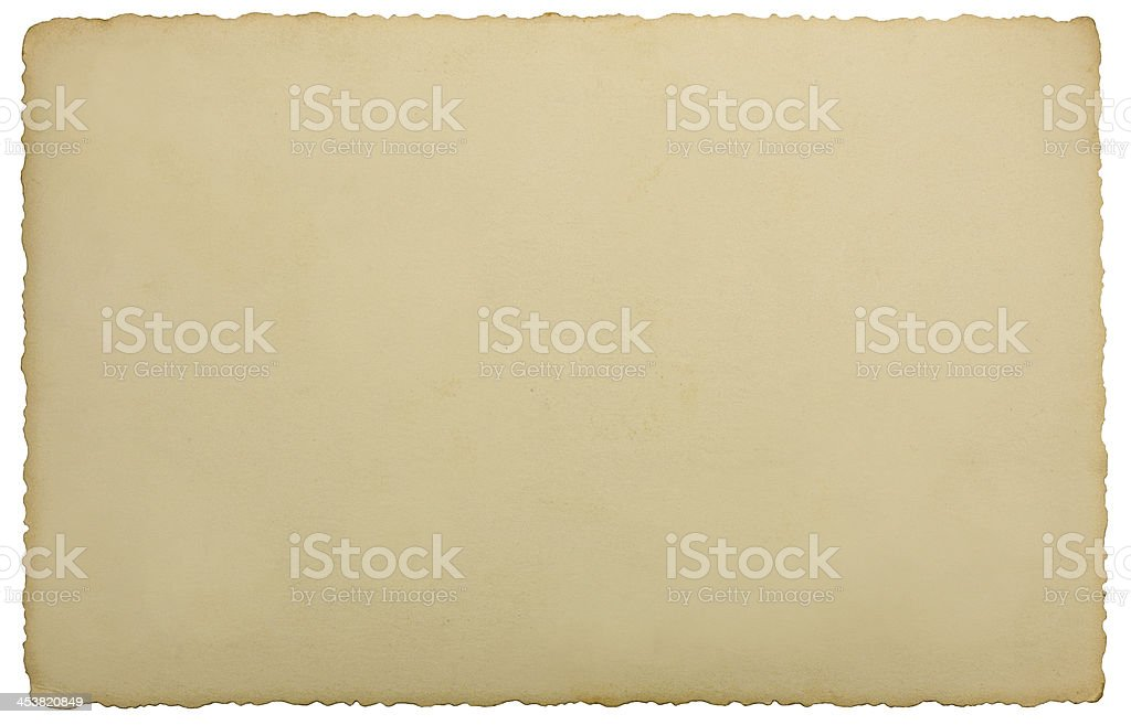 Vintage Edge Photo Background Texture, Isolated Macro Closeup Studio Shot stock photo