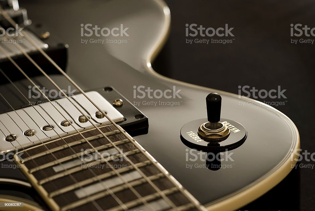 Vintage Electric Guitar royalty-free stock photo