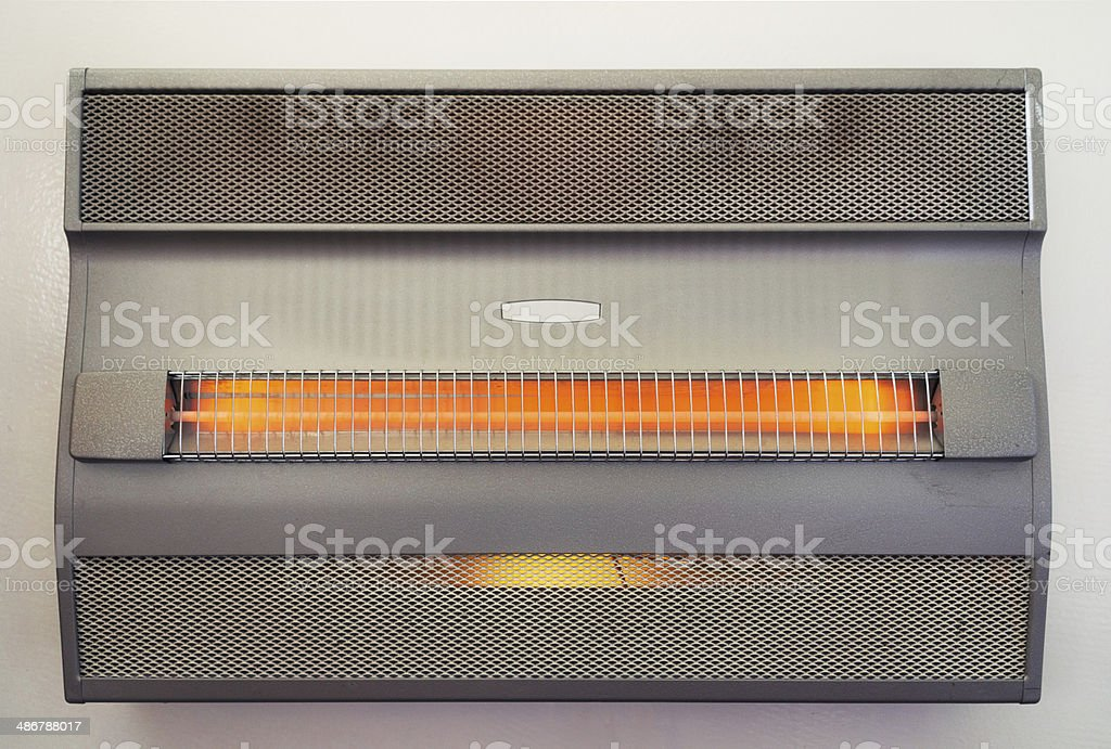 Vintage Electric Heater royalty-free stock photo