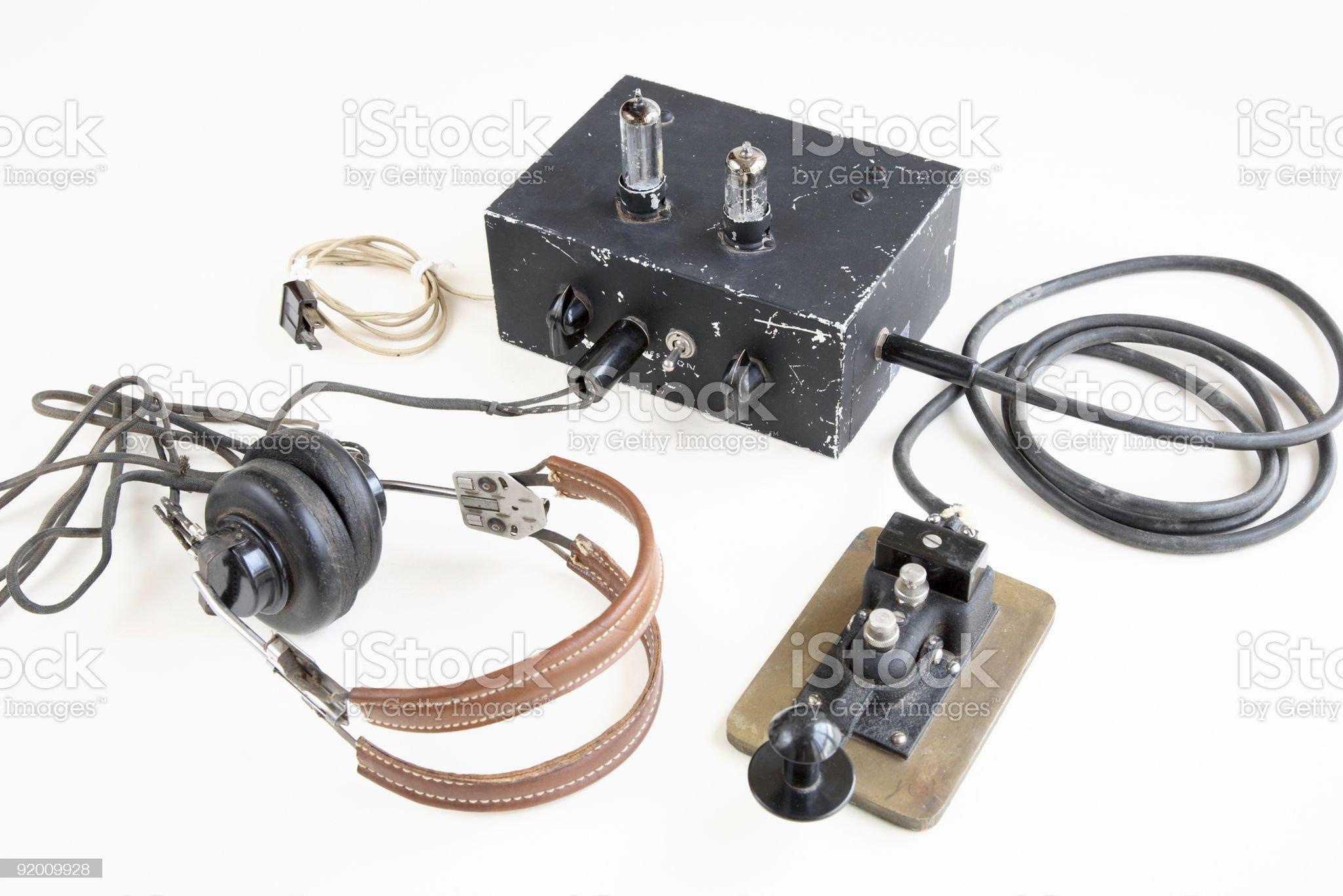 Vintage Electronics royalty-free stock photo